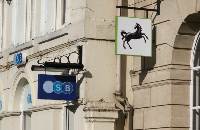 Lloyds Banking Company merged with the Trustee Savings Bank in 1995 to form Lloyds TSB, a move that was then reversed in 2013 as the companies split. Photo: Barry Barnes/Julius Kielaiitis/Shutterstock