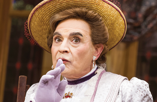 David Suchet defends right to play women's roles