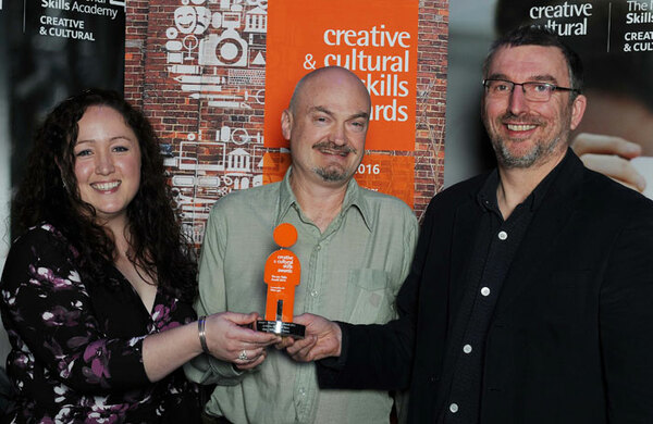 Wales Millennium Centre staff recognised with apprenticeship award