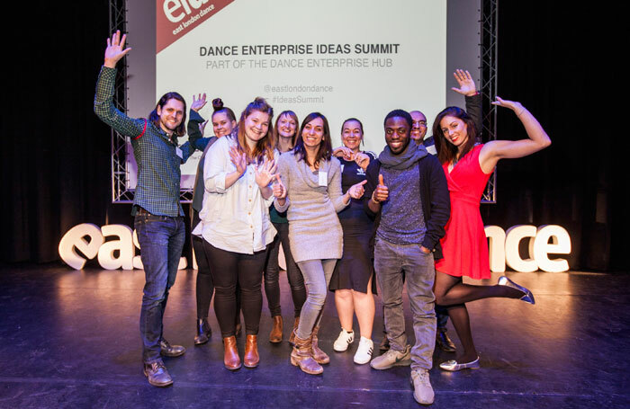 Dance Enterprise Ideas Fund winners. Photo: Jeremy Freedman