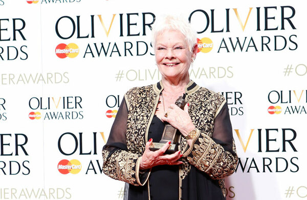 Judi Dench wins record-breaking eighth prize at Olivier Awards 2016