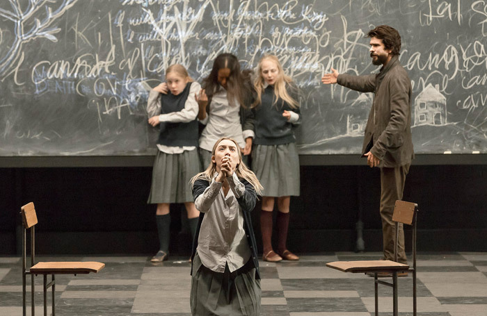 The cast of The Crucible at Walter Kerr Theatre, New York. Photo: Jan Versweyveld