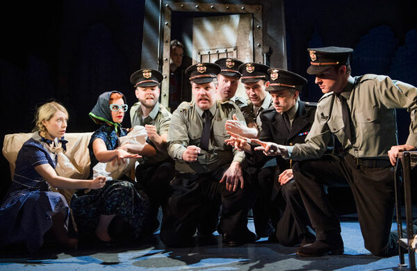 Opening night – The Comedy About a Bank Robbery at the Criterion Theatre, London