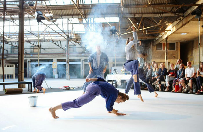 Loan recipient Dance South East helped  support Theo Clinkard's Of Land and Tongue. Photo: Zoe Manders