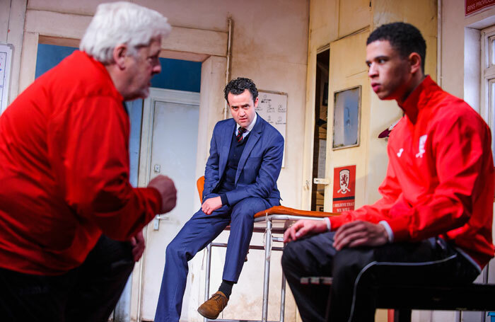 The finalists in last year's Critic Search were asked to review The Red Lion at the National Theatre. Photo: Tristram Kenton