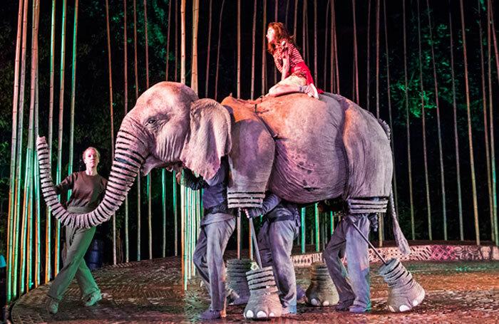 Ava Potter in Running Wild at Regent's Park Open Air Theatre, London. Photo: Tristram Kenton