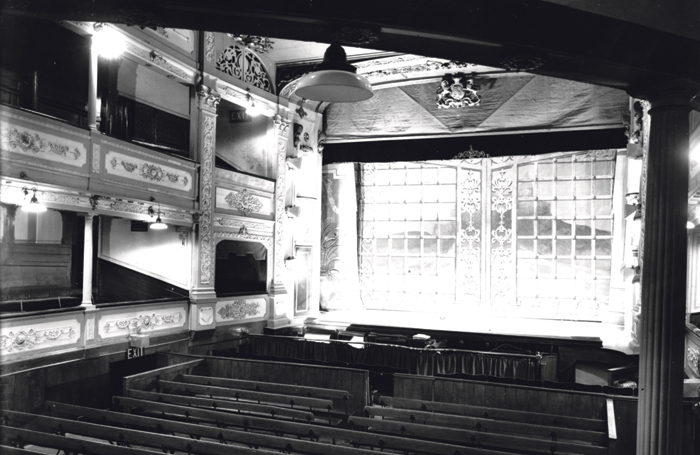 The Theatre Royal interior before the  Second World War