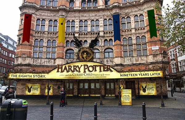 Westminster Council approves Palace Theatre's Hogwarts facade for Harry Potter run