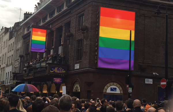 Mark Shenton's week: Bravo to theatres flying the rainbow flag in support of victims
