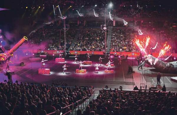 International: How to pitch your circus tent in the US