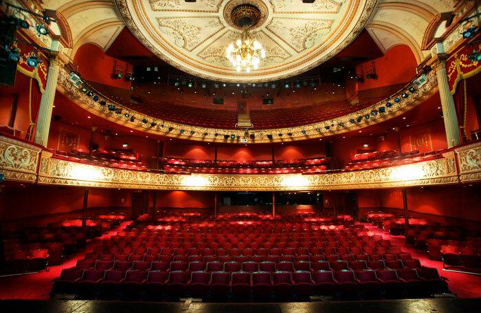 Auditorium at the Wolverhampton Grand Theatre. Photo: Jonathan Hipkiss