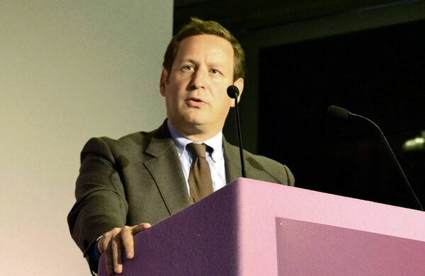 Culture minister Ed Vaizey leaves the government