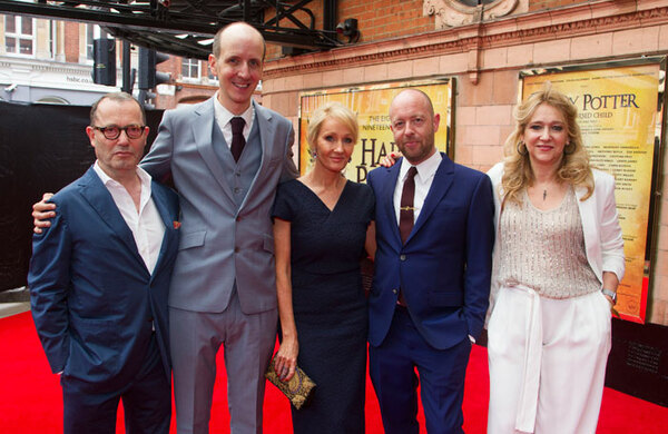 JK Rowling: 'I want Harry Potter and the Cursed Child to attract first-time theatregoers'