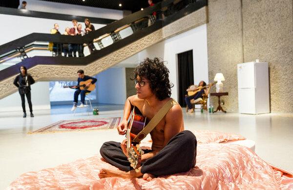 Natasha Tripney: Ragnar Kjartansson's installations speak volumes about performance