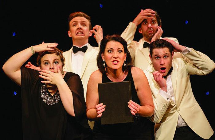 Cast of The Shakespeare Revue at Cambridge Arts Theatre