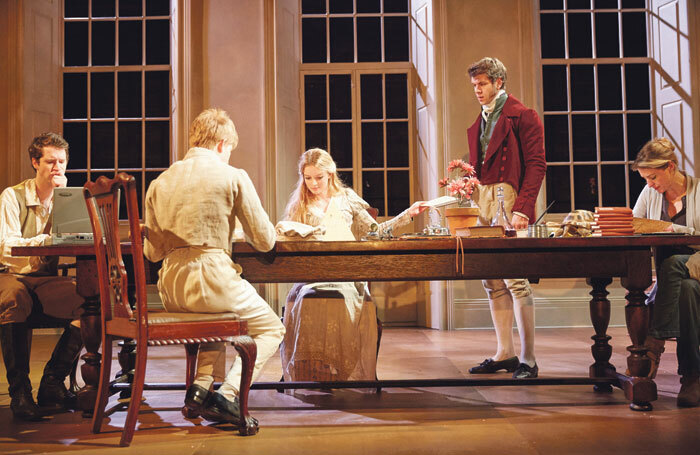 English Touring Theatre's 2015 production of Arcadia was an early beneficiary of theatre tax relief. Photo: Mark Douet