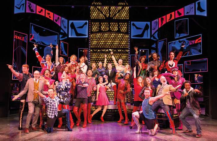 The new cast of Kinky Boots in the West End. Photo: Helen Maybanks
