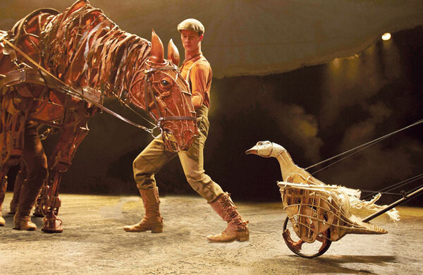 War Horse puppets fetch £68k at auction