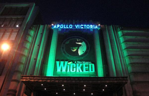 Apollo Victoria Theatre refurb unveiled for Wicked's 10th anniversary