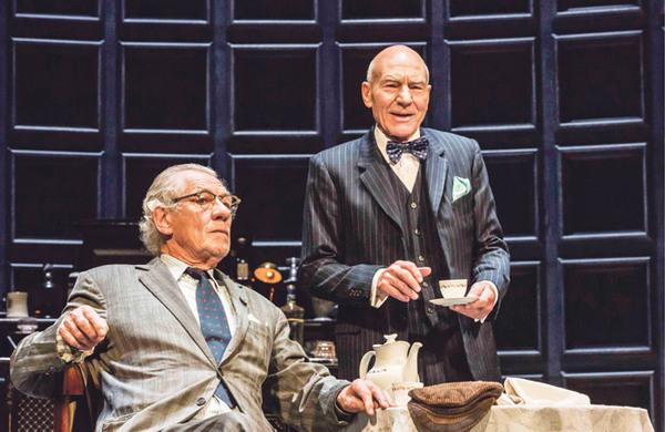 No Man's Land starring Ian McKellen and Patrick Stewart – review round-up