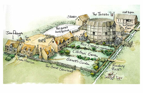 Remains of early Shakespeare theatre site granted heritage status