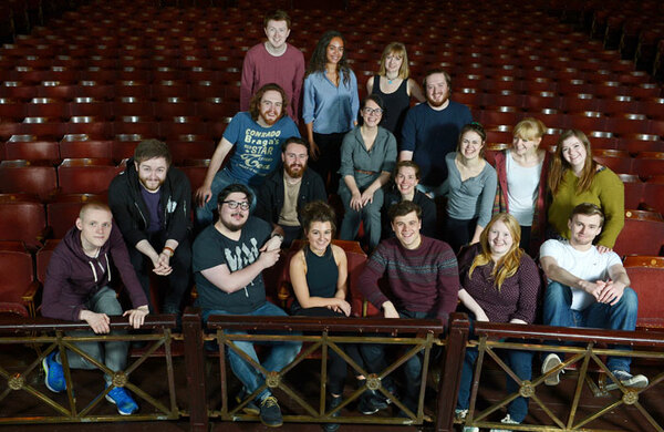 Young actors' company formed to offer free training in Scotland