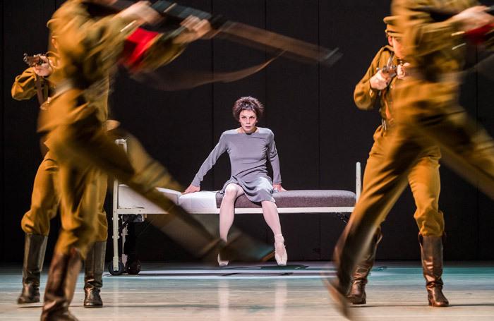Natalia Osipova and the company in Anastasia at Royal Opera House, London