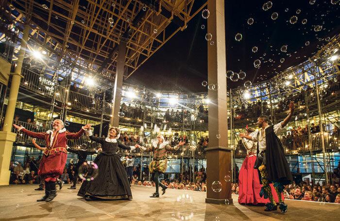 Pop-up Globe's production of Twelfth Night. Photo: PopUup Globe