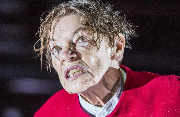 Glenda Jackson in King Lear at the Old Vic. Photo: Tristram Kenton