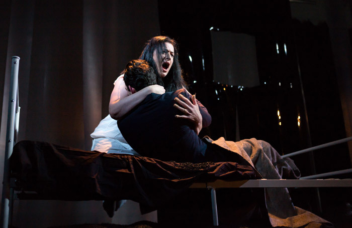 Madeleine Pierard in the Shadwell Opera double-bill at Hackney Showroom, London. Photo: Nick Rutter