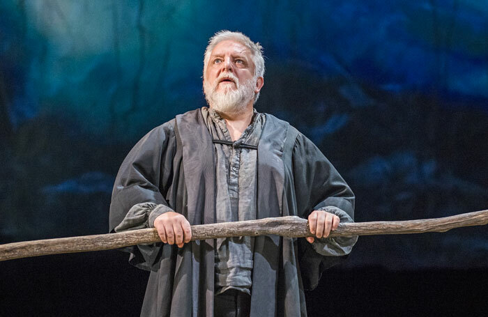 Simon Russell Beale in The Tempest at the Royal Shakespeare Theatre. Photo: Tristram Kenton