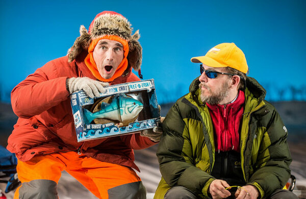 Mark Rylance in Nice Fish – review round-up
