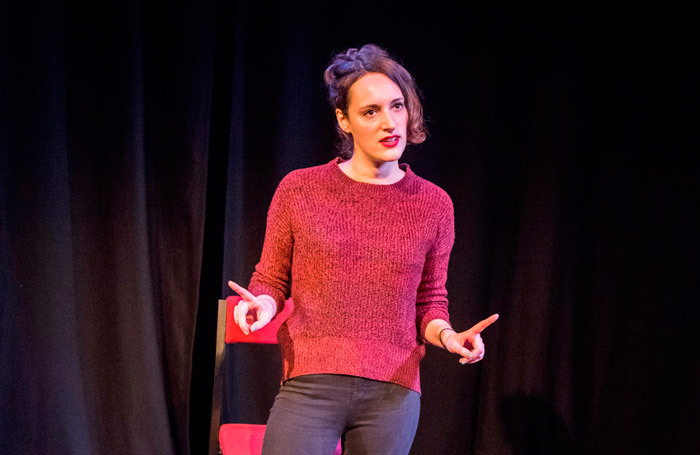 Phoebe Waller-Bridge in Fleabag at Soho Theatre, London. Photo: Tristram Kenton
