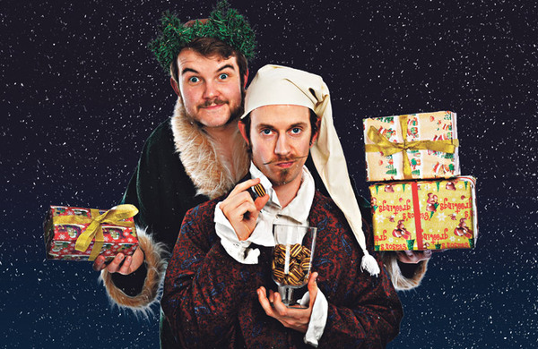 Morgan and West: A (sort of) Christmas Carol Magic Show
