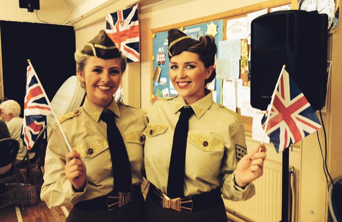 Sarah Rhodes and GinaMcKendrick, from Bluebird Entertainment. Photo: Bluebird Entertainment