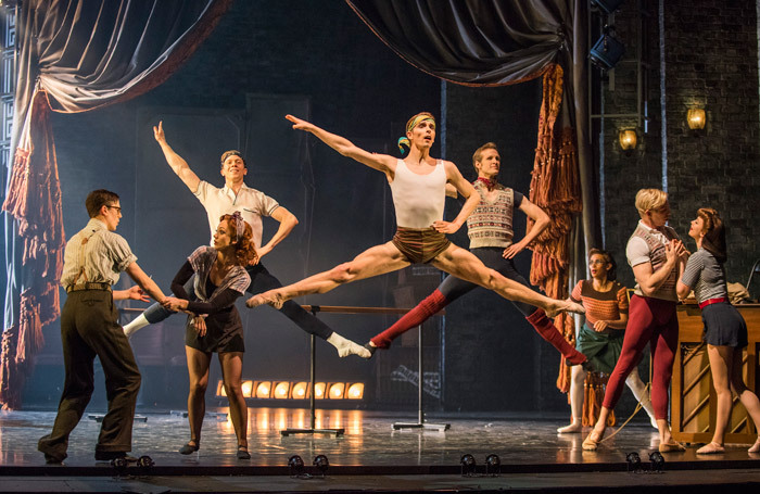The cast of the The Red Shoes at Sadler's Wells, London