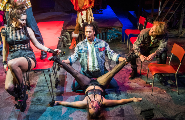 Musical Rent reduced to concert staging after company illness