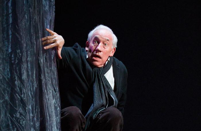 Simon Callow in A Christmas Carol at Arts Theatre, London
