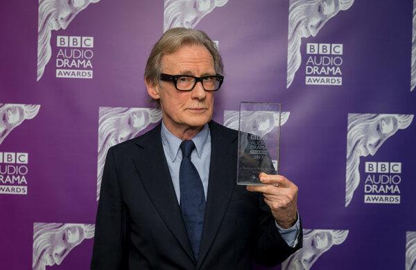 Bill Nighy picks up special award at BBC Audio Drama Awards 2017