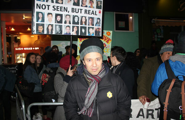 Daniel York: The night I was spat at for protesting 'yellowface'