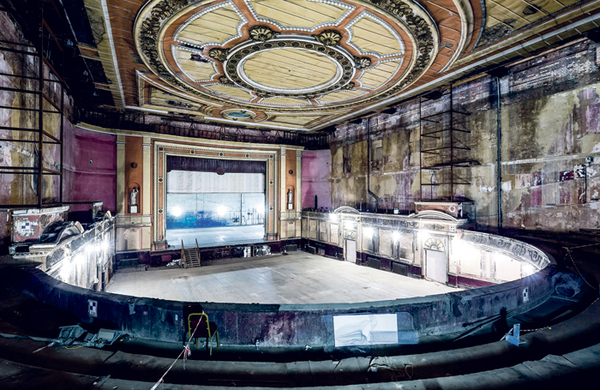 How Alexandra Palace Theatre once enthralled London theatregoers