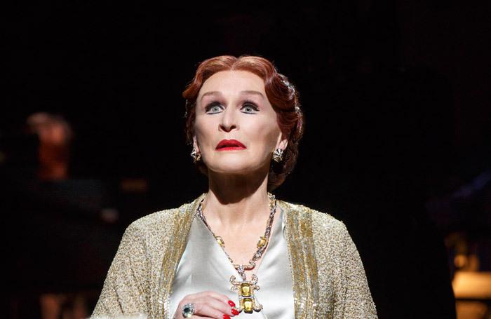 Glenn Close as Norma Desmond in Sunset Boulevard on Broadway. Photo: Joan Marcus
