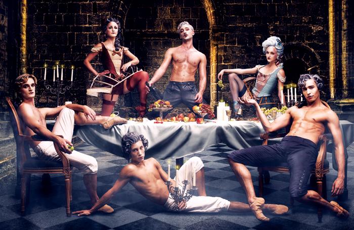 Cast of Casanova. Photo: Guy Farrow
