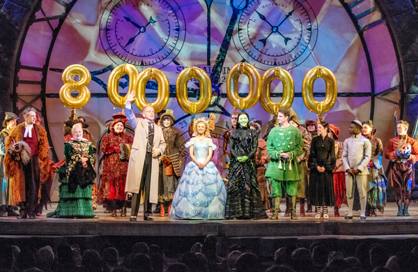 In pictures (February 16): Wicked's eight millionth visitor, Damian Lewis and Sophie Okonedo and more