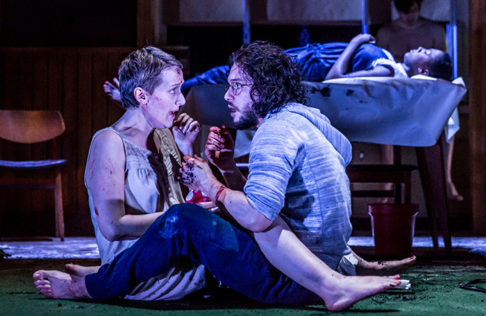Game of Thrones star Kit Harington brought new audiences to the theatre when he appeared in Doctor Faustus at the Duke of York's Theatre, London, but fans were criticised for eating during the show. Photo: Marc Brenner