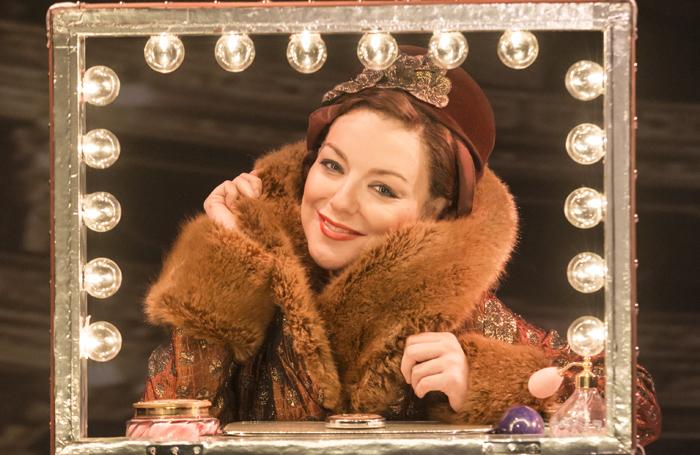 Sheridan Smith in Funny Girl. Photo: Johan Persson