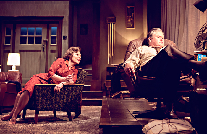 Imelda Staunton and Conleth Hill in Who's Afraid of Virginia Woolf. Photo: Johan Persson