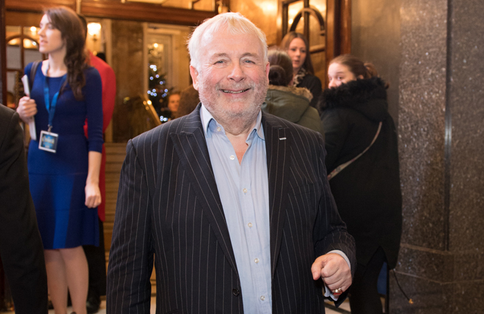 Great British Pantomime Awards host Christopher Biggins pictured at the opening night of Cinderella at the London Palladium in 2016. The show won four awards at the inaugural panto-only ceremony. Photo: Craig Sugden