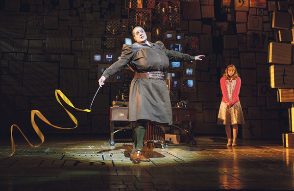 Matilda tops tours – but where are the other musicals?