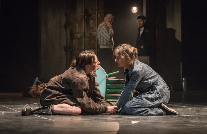 Catherine McCormack and Niamh Cusack in My Brilliant Friend at Rose Theatre, Kingston. Photo: Marc Brenner